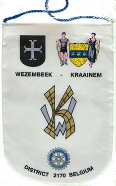 Rotary Club de Wezembeek - Kraainem (BE), remis par Benoit Bovy le 21 février 2014
